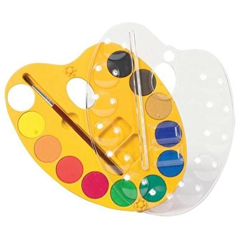 Crayola Standart Crayola 12 Renkli Sulu Boya Paleti Renkli Morhipo